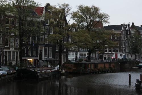 Blick auf die Prinsengracht in Amsterdam