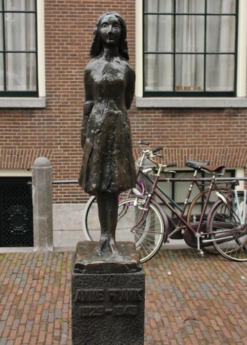 Anne Frank Denkmal in Amsterdam