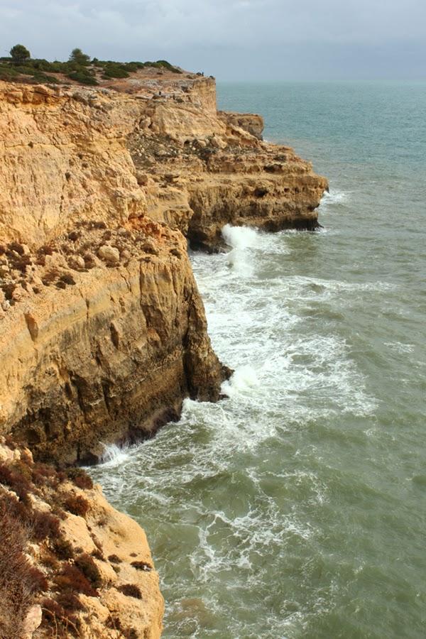 Felsenküste bei Carvoeiro