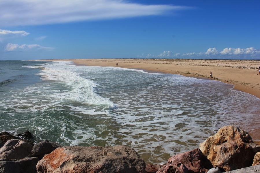 Sandstrand auf der Ilha Deserta