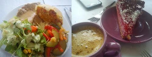 Veganes Essen bei Vegetarianius in Portimao