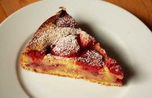veganer Erdbeer Joghurt Kuchen