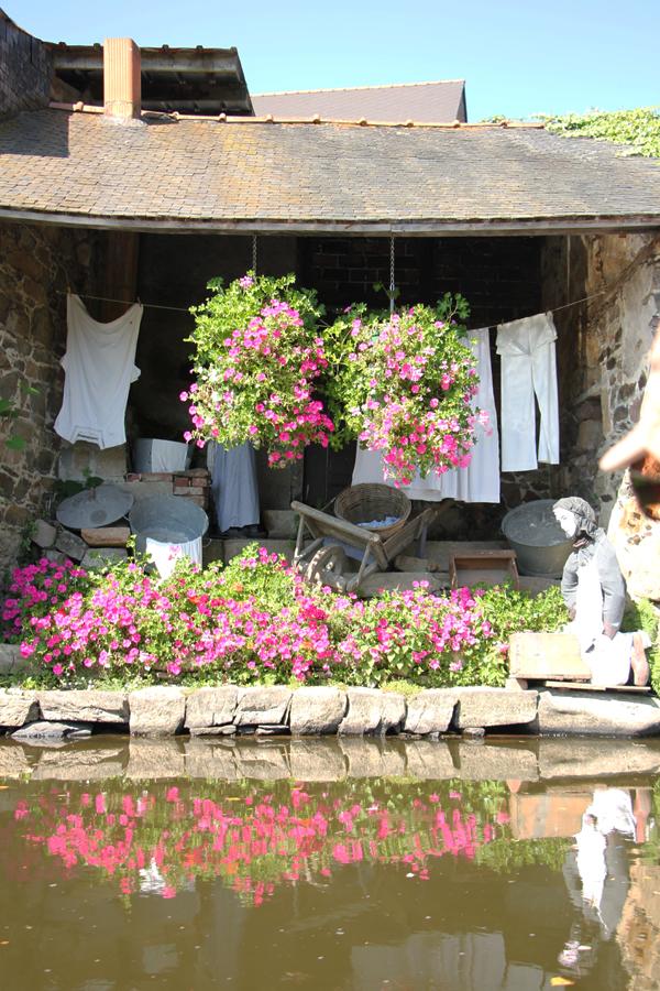 Pontrieux Bretagne, alte Waschhäuser in Pontrieux