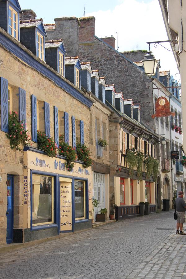 Pontrieux Bretagne, Straßenansicht