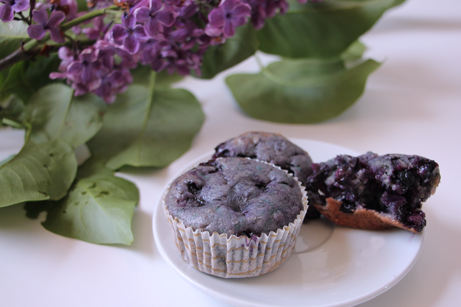 Rezept: Blueberry Muffins