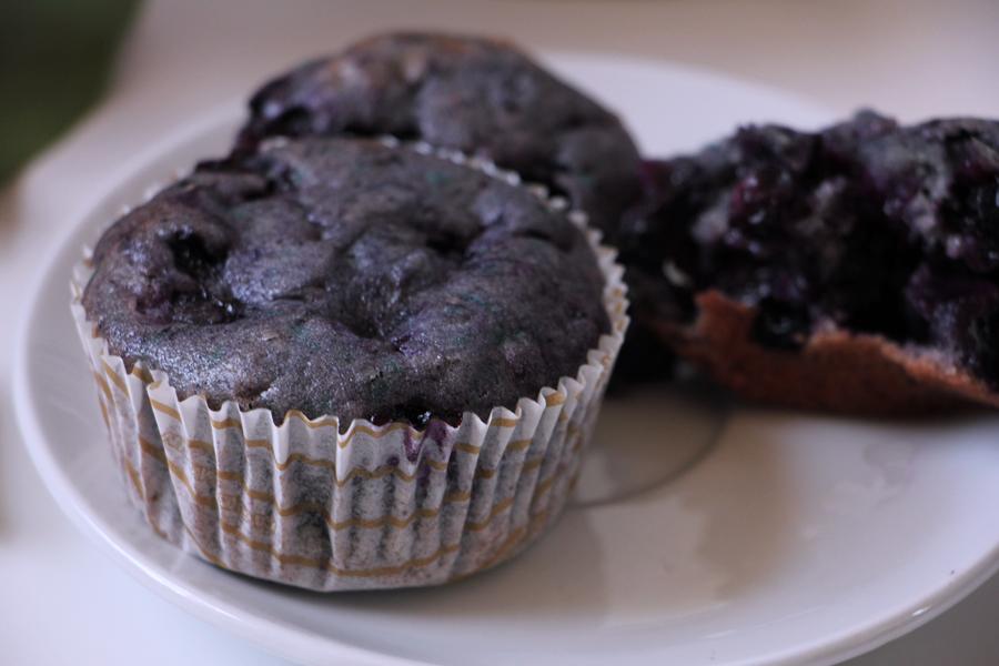 Bluberry Muffins 2