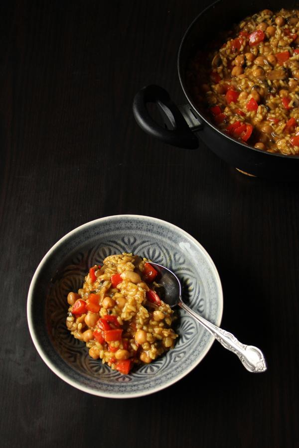 Vegane Paella - 1