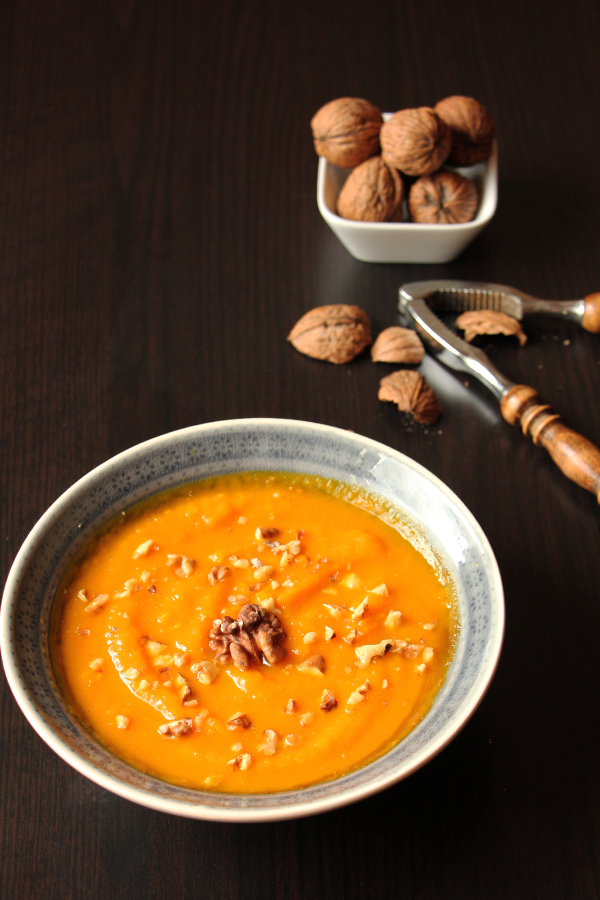 Kürbis Süßkartoffel Suppe 1