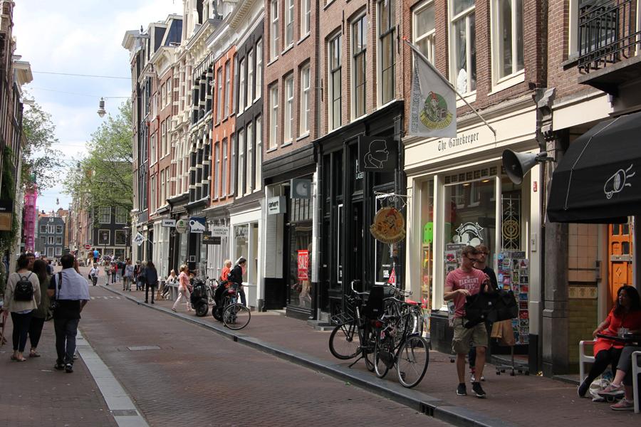 De Negen Stratjes in Amsterdam