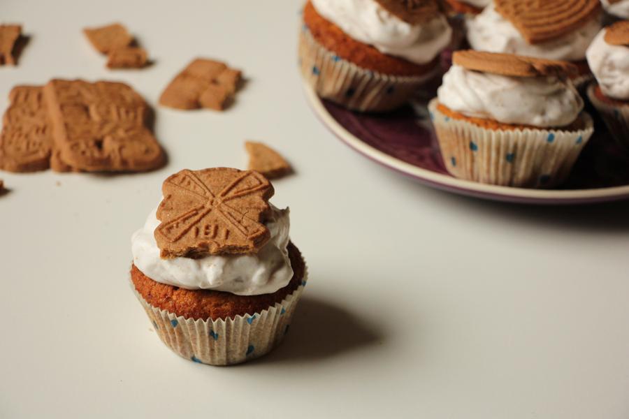Kürbis Spekulatius Cupcakes 2