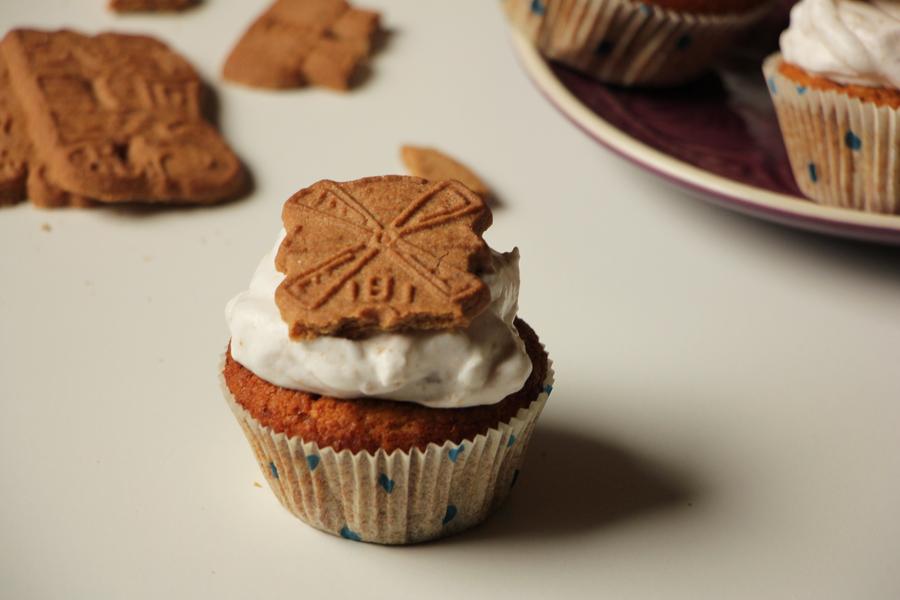 Kürbis Spekulatius Cupcakes 3