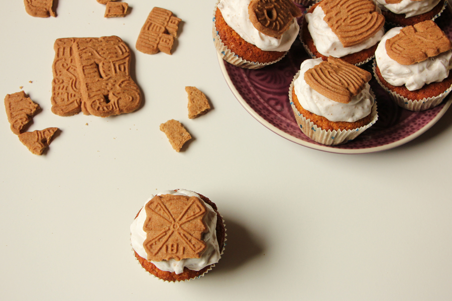 Kürbis Spekulatius Cupcakes 4