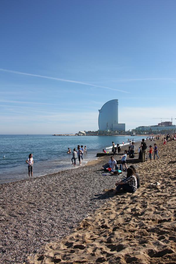 Barcelona, Strand, Barceloneta