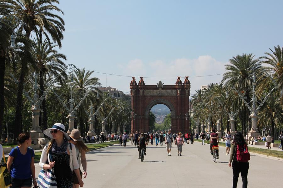 Barcelona, Arc de Triomf