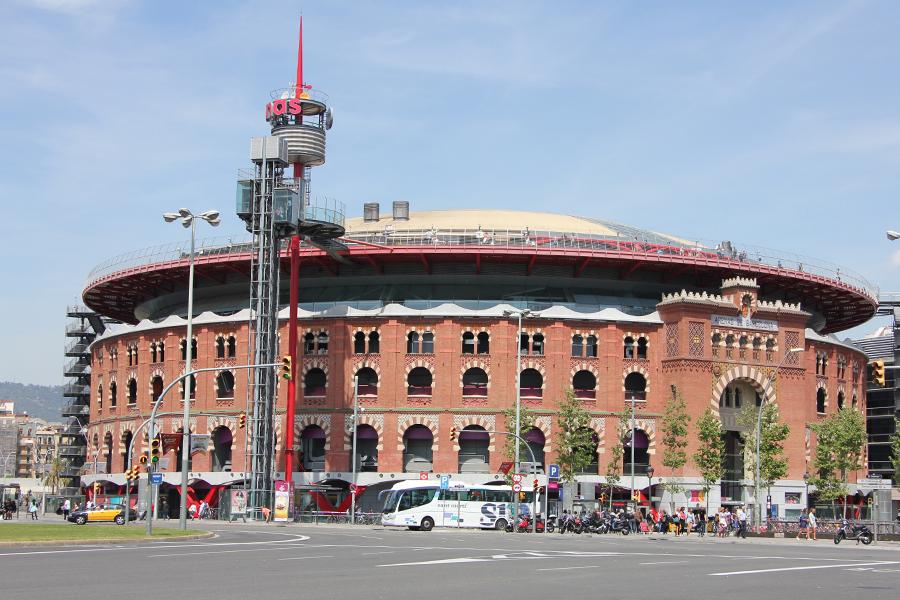 Barcelona, Les Arenas