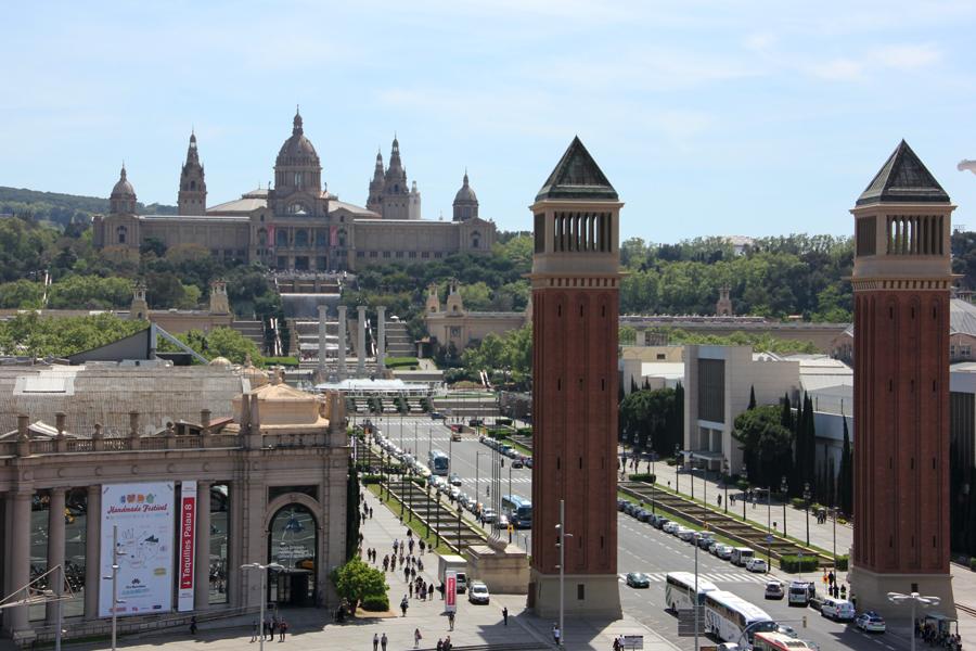 Barcelona, Placa d'Espanya, Font Màgica