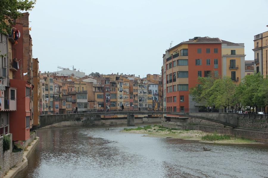 Girona, Katalonien, Fluss
