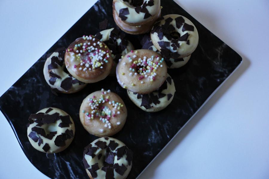 vegane Donuts, Rezept mit dem Donutmaker