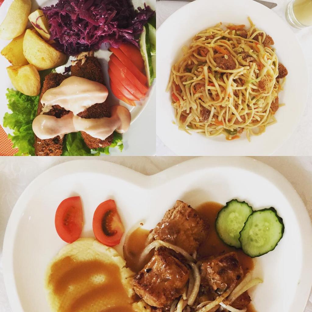 veganes Essen in Ulan Bator