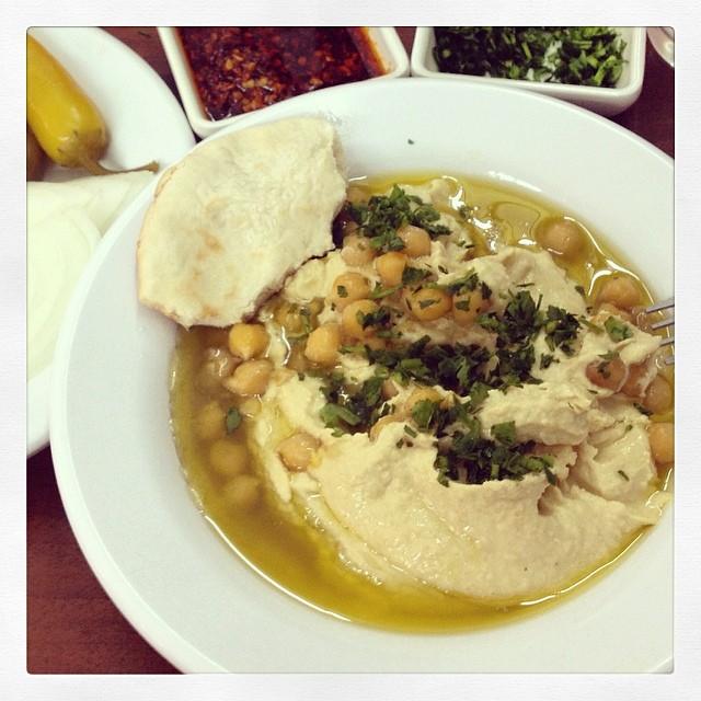 Hummus in Israel