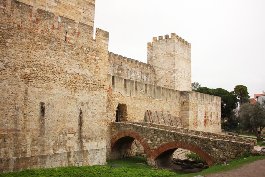 Castelo de Sao Jorge Lissabon