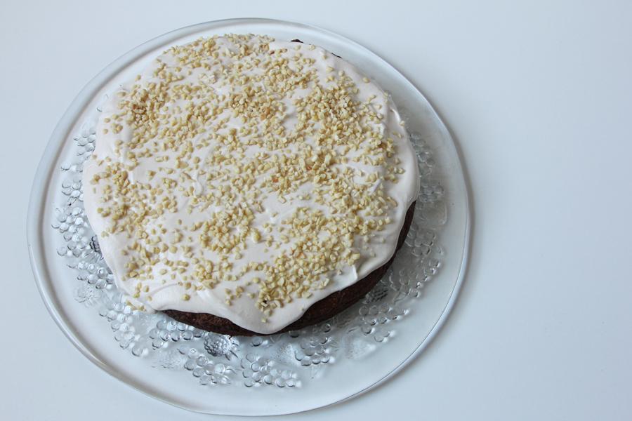 Schoko-Mandel Kuchen 1