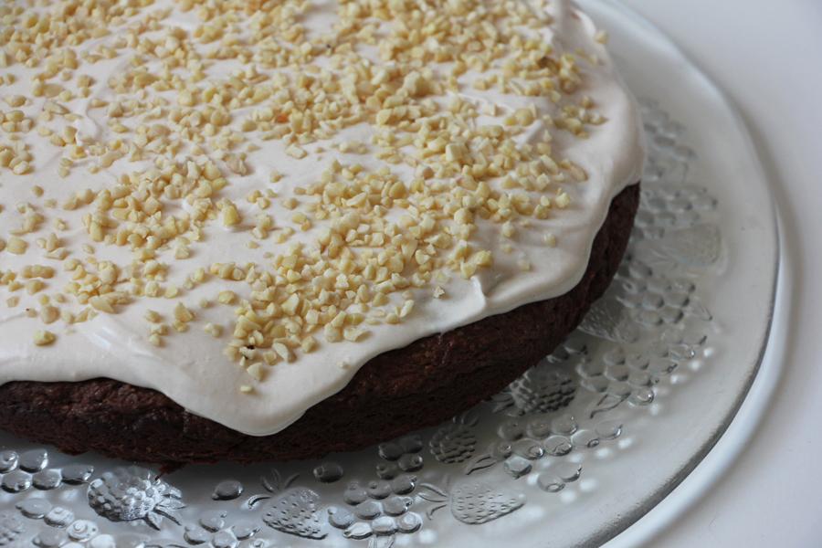 Schoko-Mandel Kuchen 2