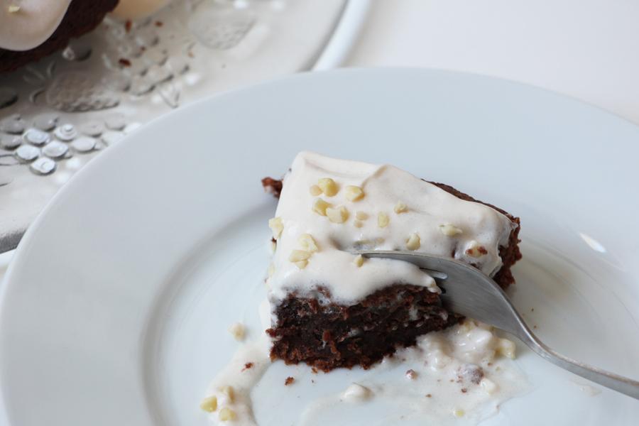 Schoko-Mandel Kuchen 3