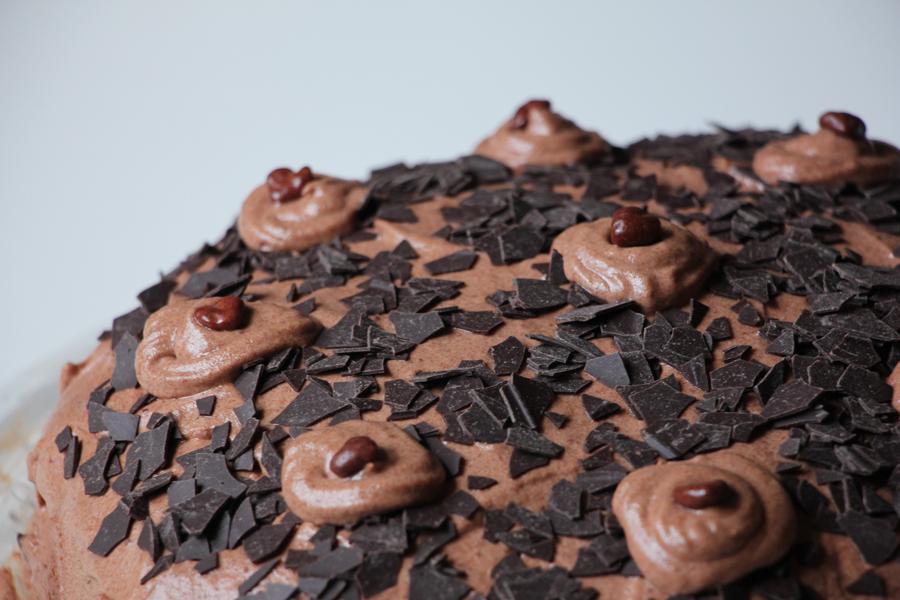 Schoko-Sahne Torte 1