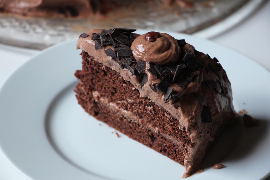 Schoko-Sahne Torte 2
