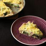 Rezept: Gemüsequiche mit Brokkoli und Pilzen