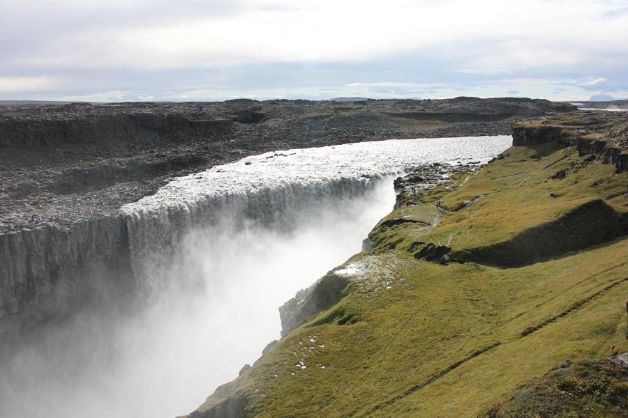 Dettifoss Wasserfall Island