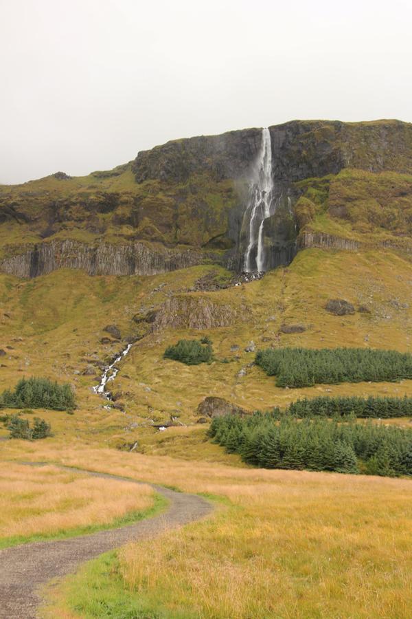 Wasserfall Snaefellsnes Halbinsel Island