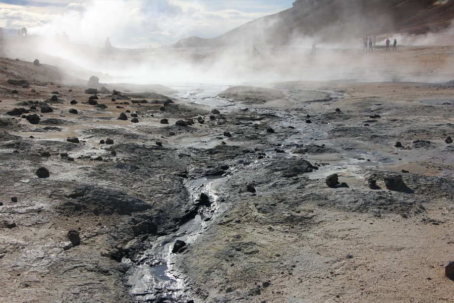 Thermalgebiet am Namjafall Island