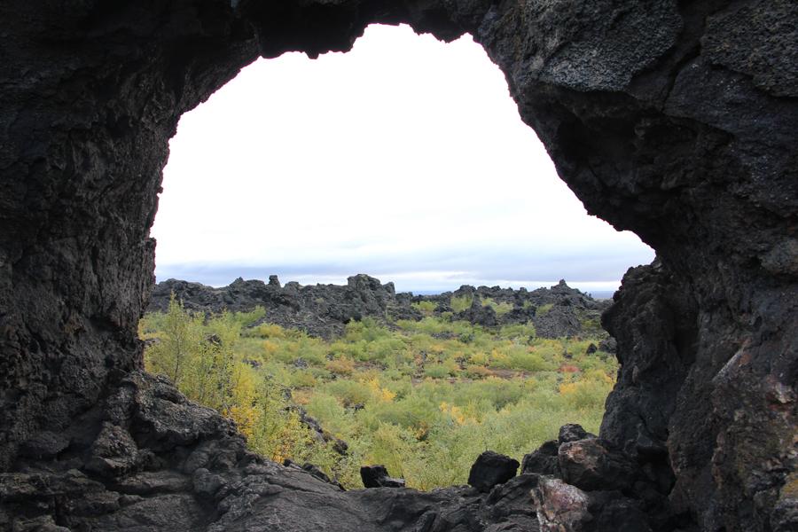 Dimmuborgir, Mývatn Region Island