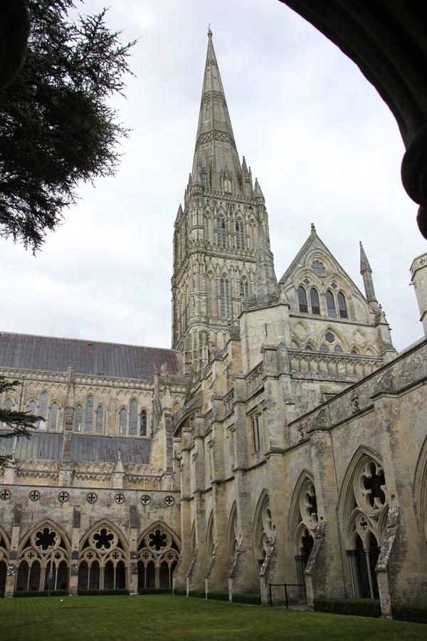 Salisbury, Kathedrale, Kirchturm, England