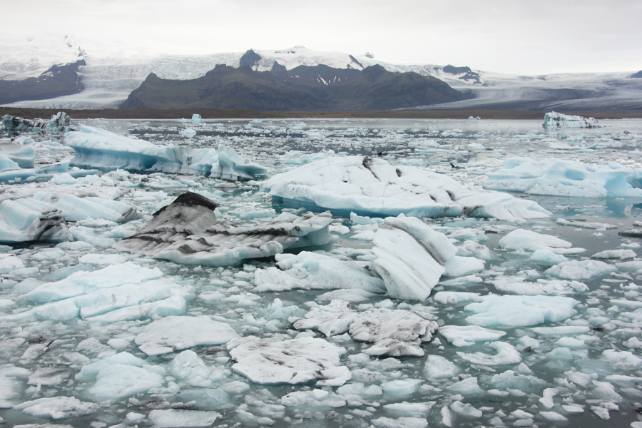 Gletscherlagune Jökulsarlon Island