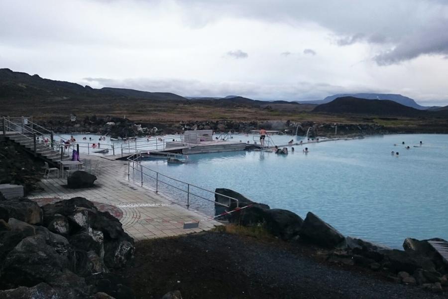 Mývatn Nature Baths Hotpot Island