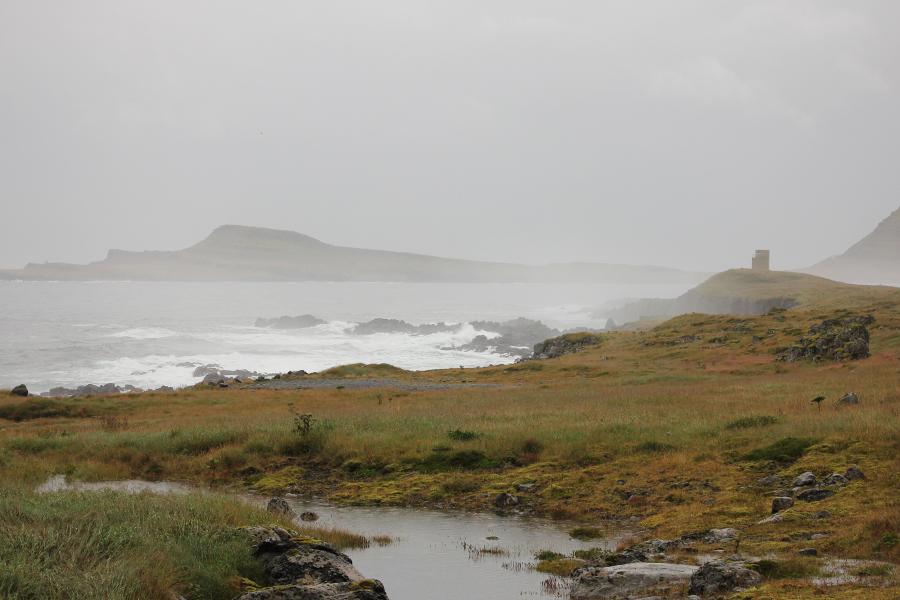 Küste in den Ostfjorden