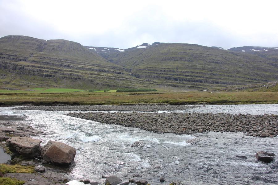 Landschaft in den Ostfjorden