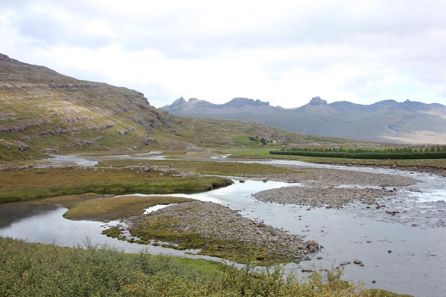 Wanderung in den Ostfjorden