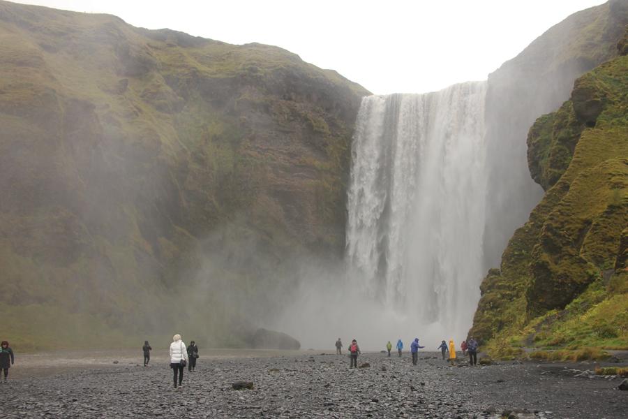 Skógafoss Wasserfall in Südisland