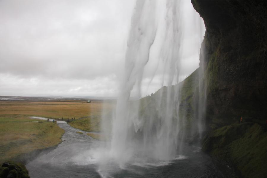 Seljalandsfoss Wasserfall in Südisland