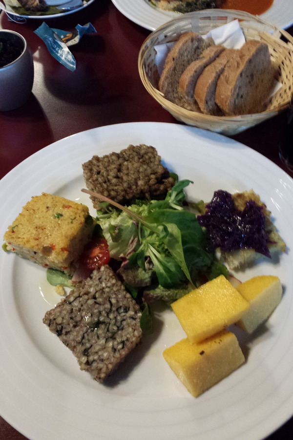 Prag vegan, Old Bohemian vegan Feast im Vegan's Prague