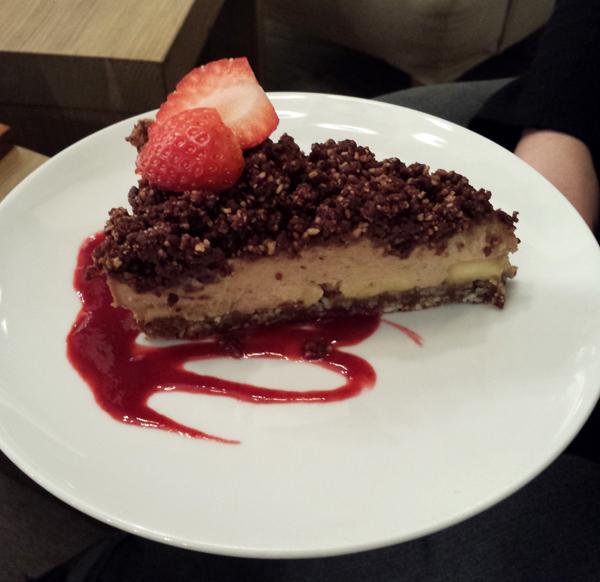 Prag vegan, Rohveganer Kuchen im My Raw Cafe