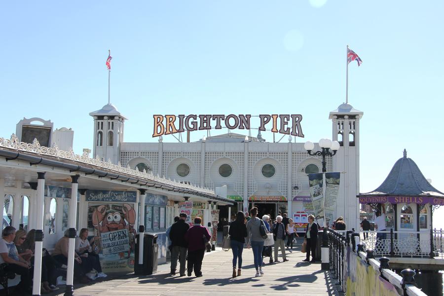 Südengland Roadtrip, Brighton Pier