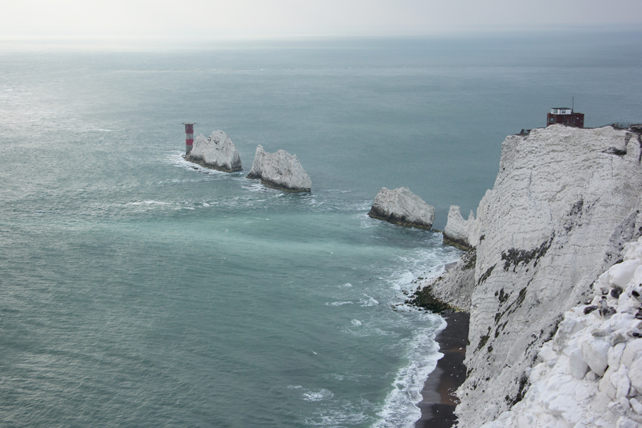 Südengland Roadtrip, Isle of Wight, The Needles