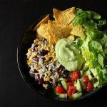 Rezept: Taco Bowl mit Avocado Dip