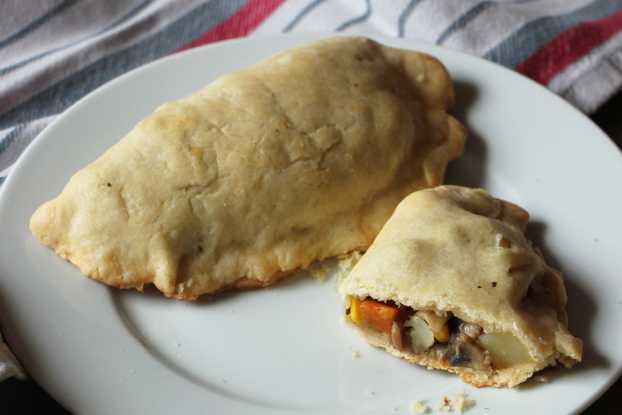 vegane Cornish Pasties