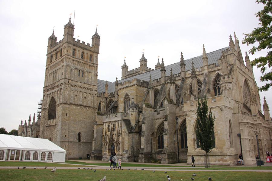 Südengland Roadtrip Exeter Kathedrale